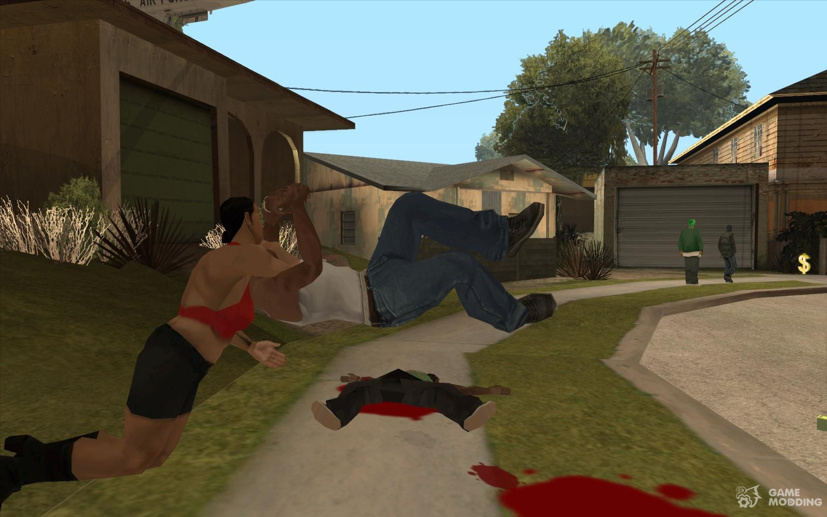 wrestling moves for gta san andreas