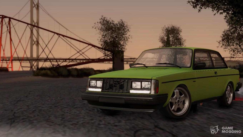 1983 Volvo Turbo 242 Evolution Turbo For Gta San Andreas