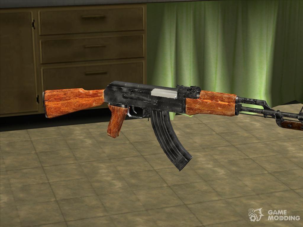 скачать мод на гта сан андреас на hd оружие