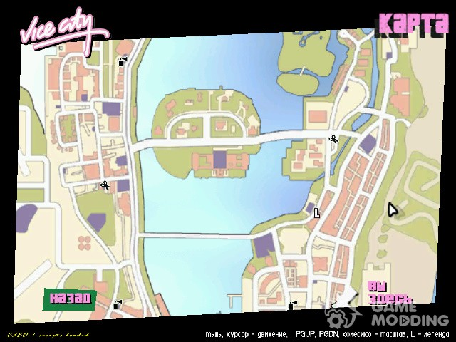 Icons maps of GTA V for GTA Vice City
