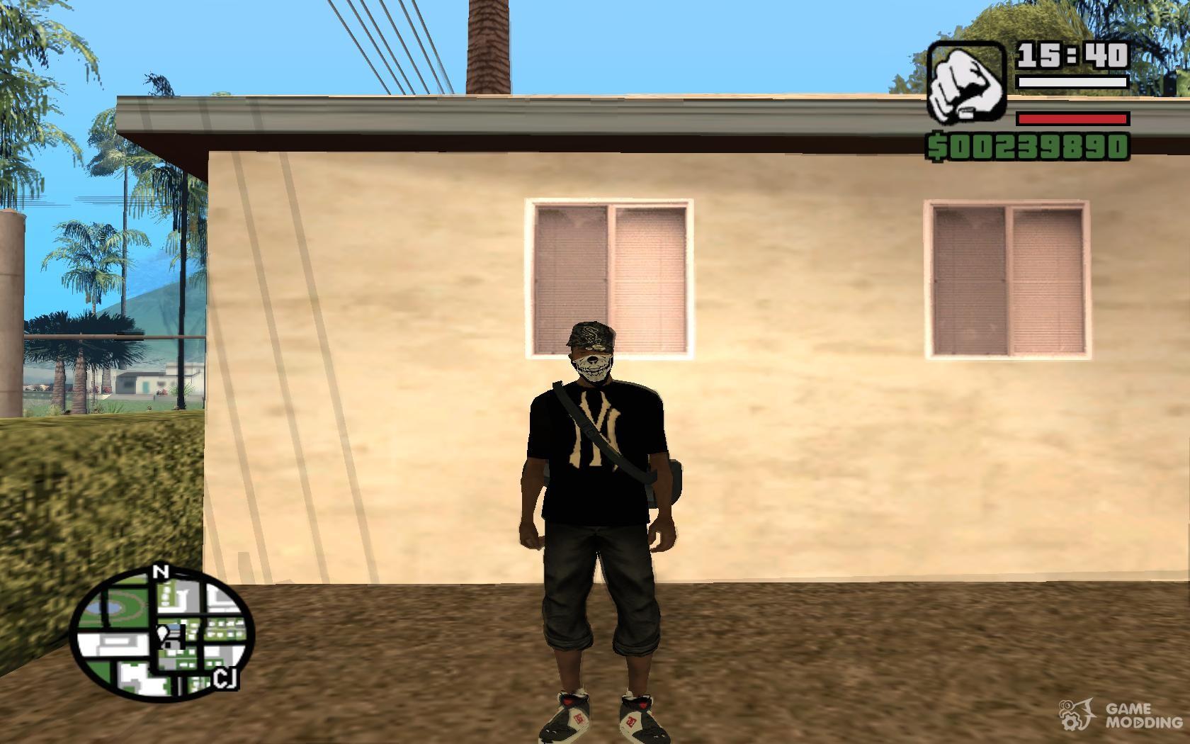 Коды к GTA: San Andreas: Все коды 85