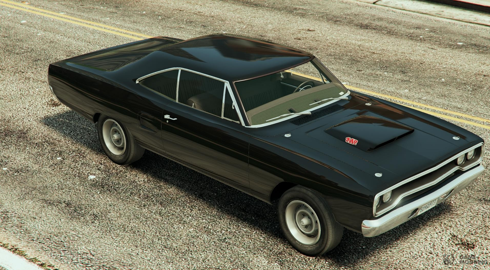 plymouth road runner 1970 for gta 5. Black Bedroom Furniture Sets. Home Design Ideas