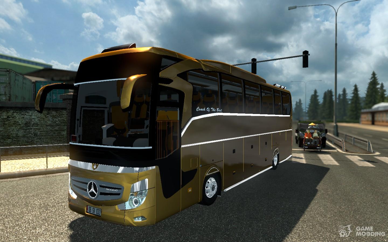 Скачать мод евро трек симулятор 2 автобусы