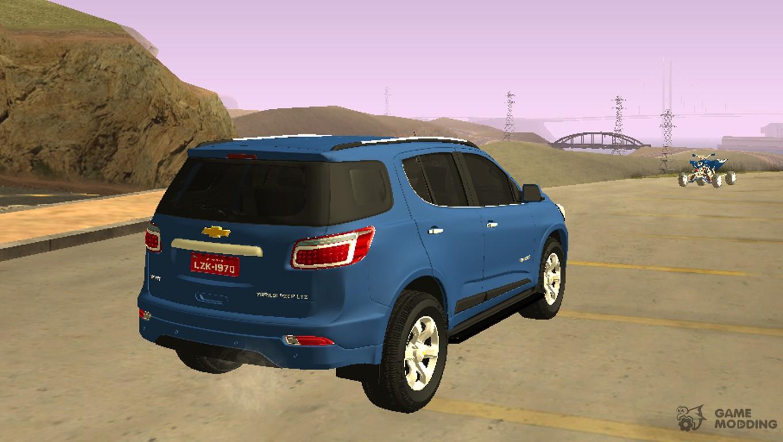 Chevy 2012 chevy trailblazer : Chevrolet TrailBlazer LTZ 2015 for GTA San Andreas