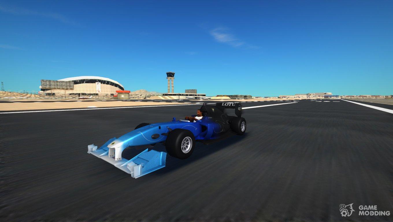 Lotus T125 F1 2011 for GTA San Andreas