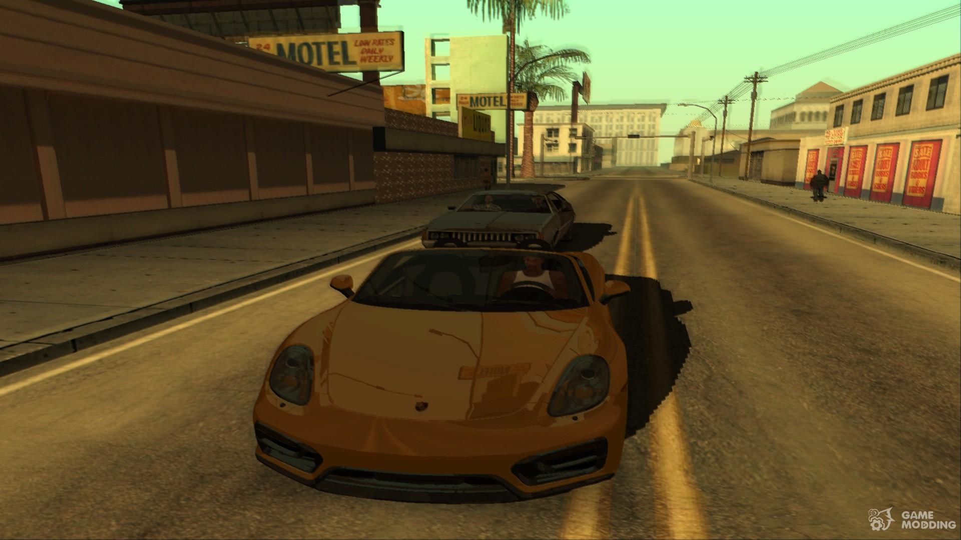 Reflection not ENB for GTA San Andreas
