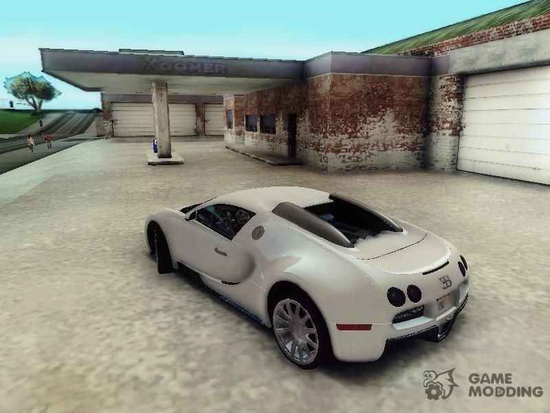 bugatti veyron 2009 for gta san andreas. Black Bedroom Furniture Sets. Home Design Ideas