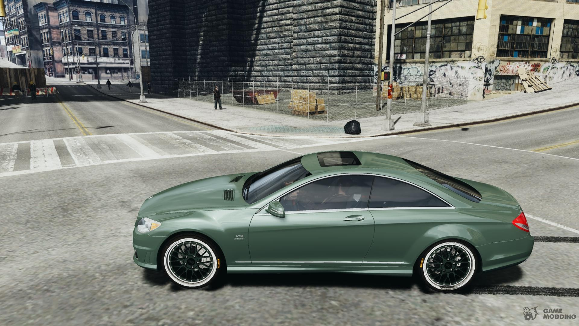 Mercedes benz cl 65 amg 2010 for gta 4 for Mercedes benz cl amg