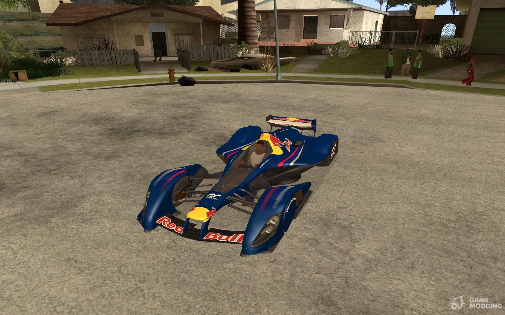 Red Bull X2010 For Gta San Andreas