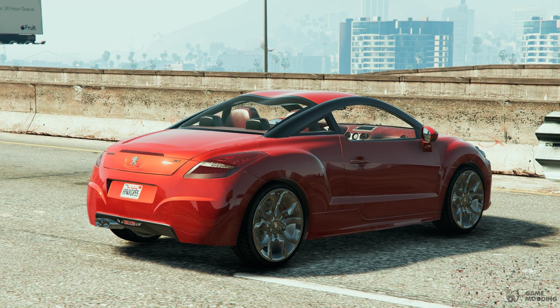 2010 peugeot 308 rcz for gta 5. Black Bedroom Furniture Sets. Home Design Ideas