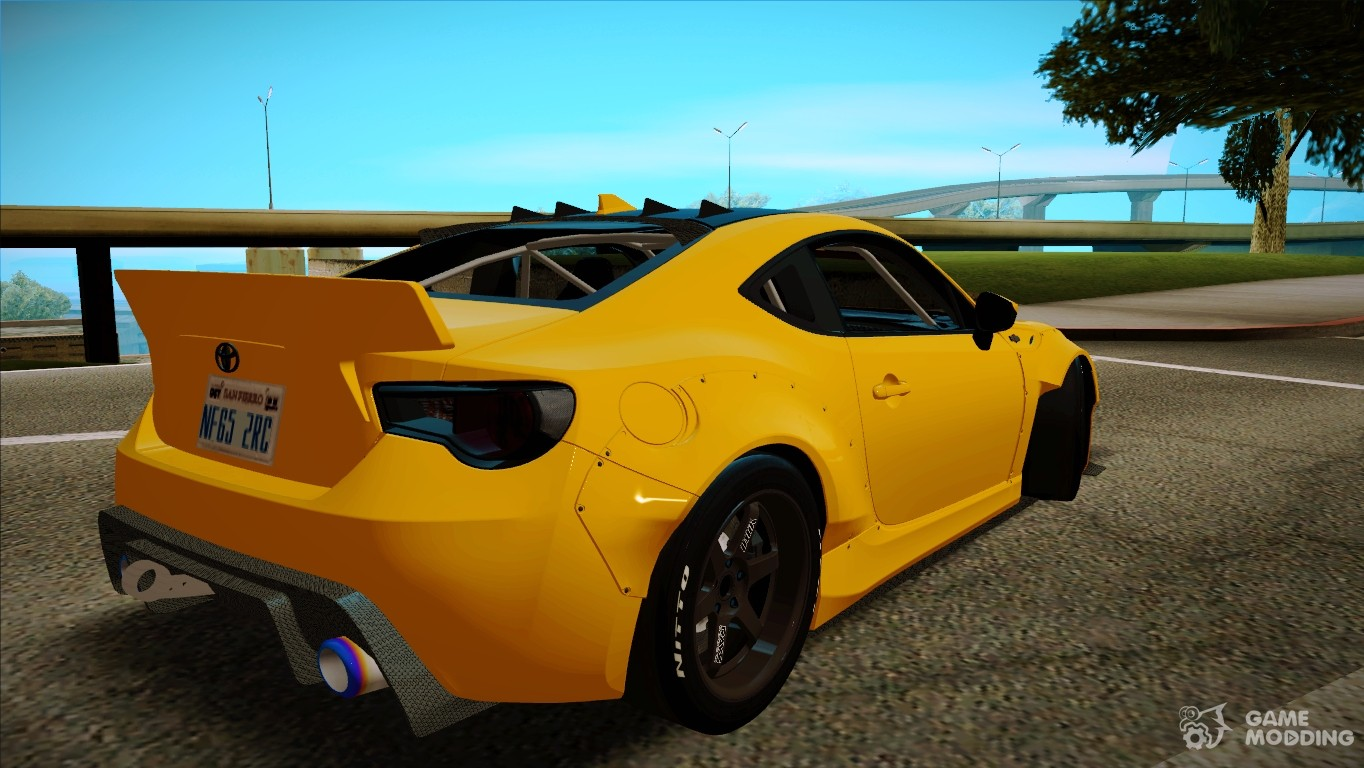 toyota gt86 rocket bunny tunable for gta san andreas. Black Bedroom Furniture Sets. Home Design Ideas