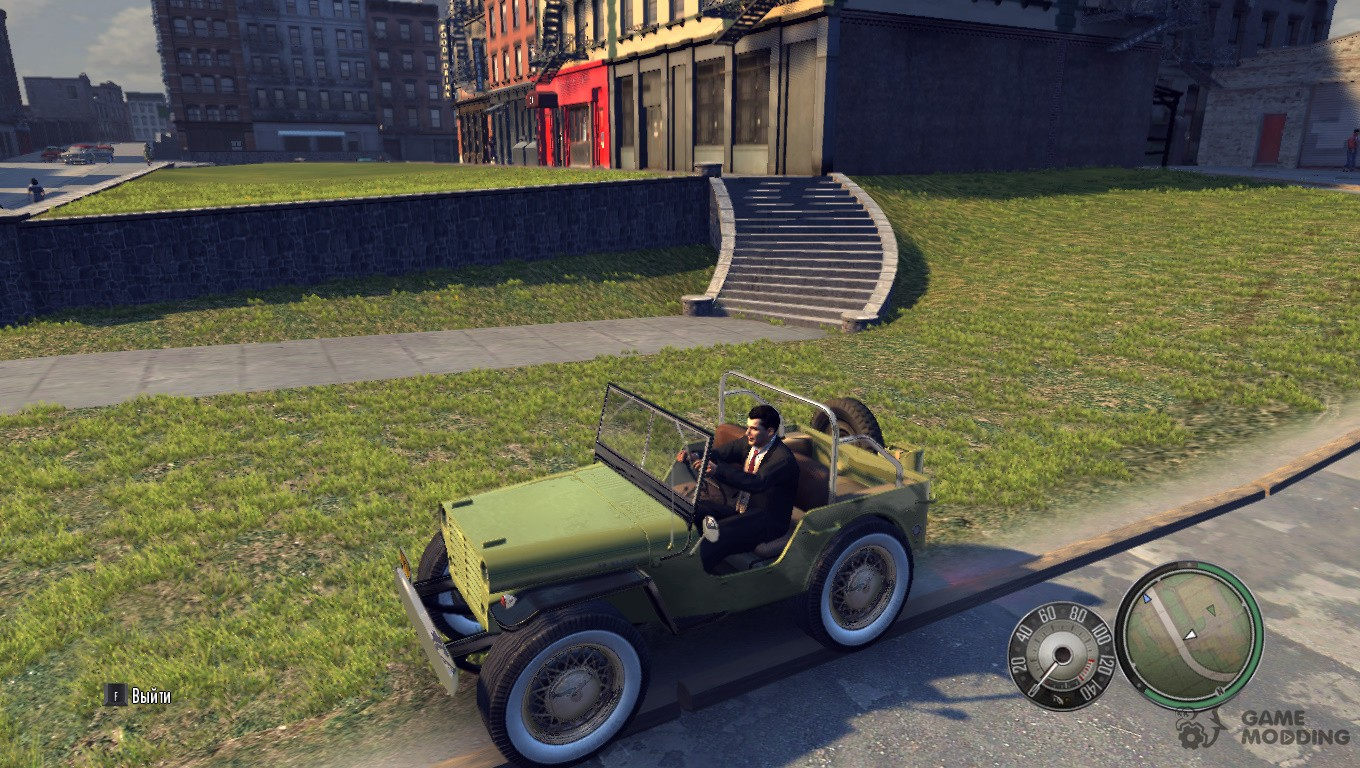 flying jeep for mafia ii. Black Bedroom Furniture Sets. Home Design Ideas