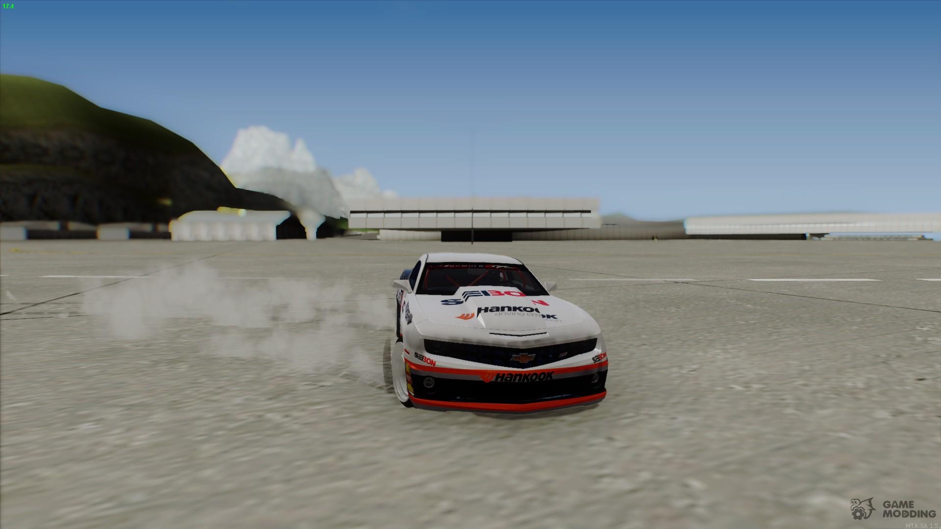 Chevrolet Camaro Hankook Tire For Gta San Andreas