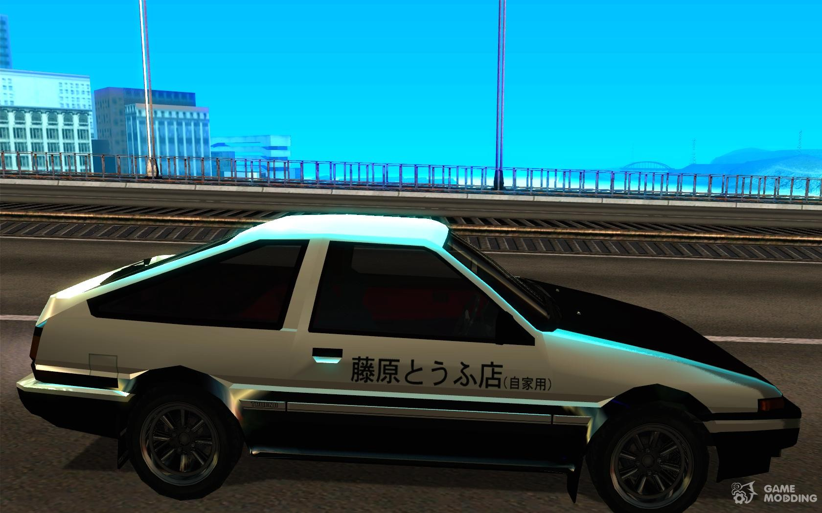 toyota sprinter trueno gt apex ae86 initial d 1983 for gta. Black Bedroom Furniture Sets. Home Design Ideas
