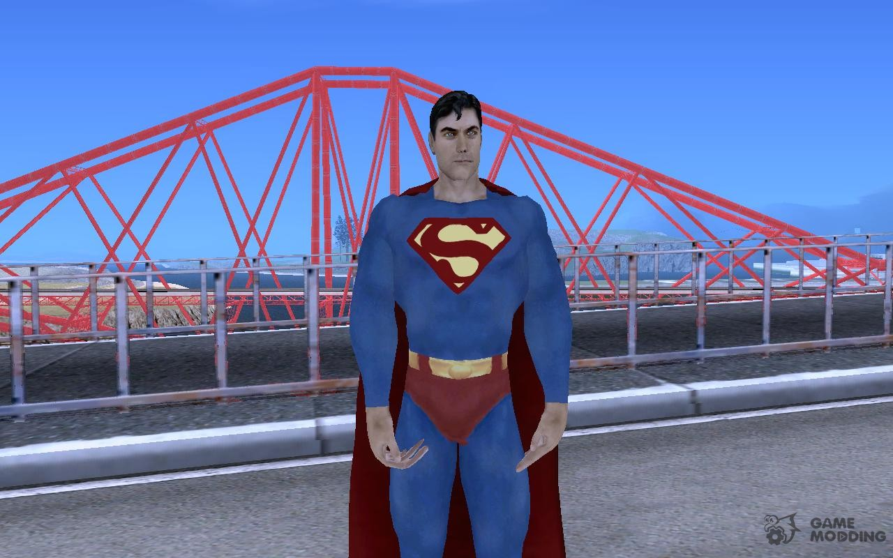 Bizarro balla replacement image reign of superman mod for grand.