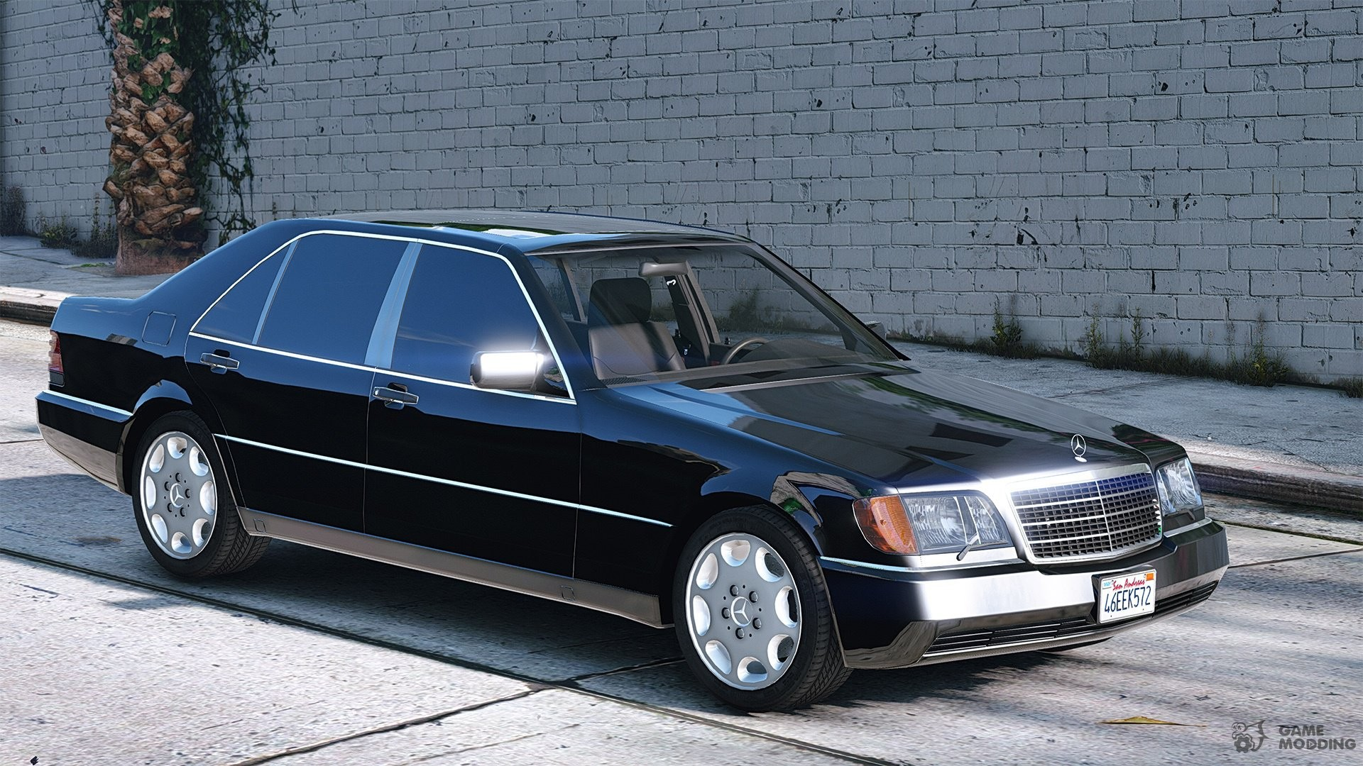 mercedes benz 600 sel w140 2 0 for gta 5. Black Bedroom Furniture Sets. Home Design Ideas