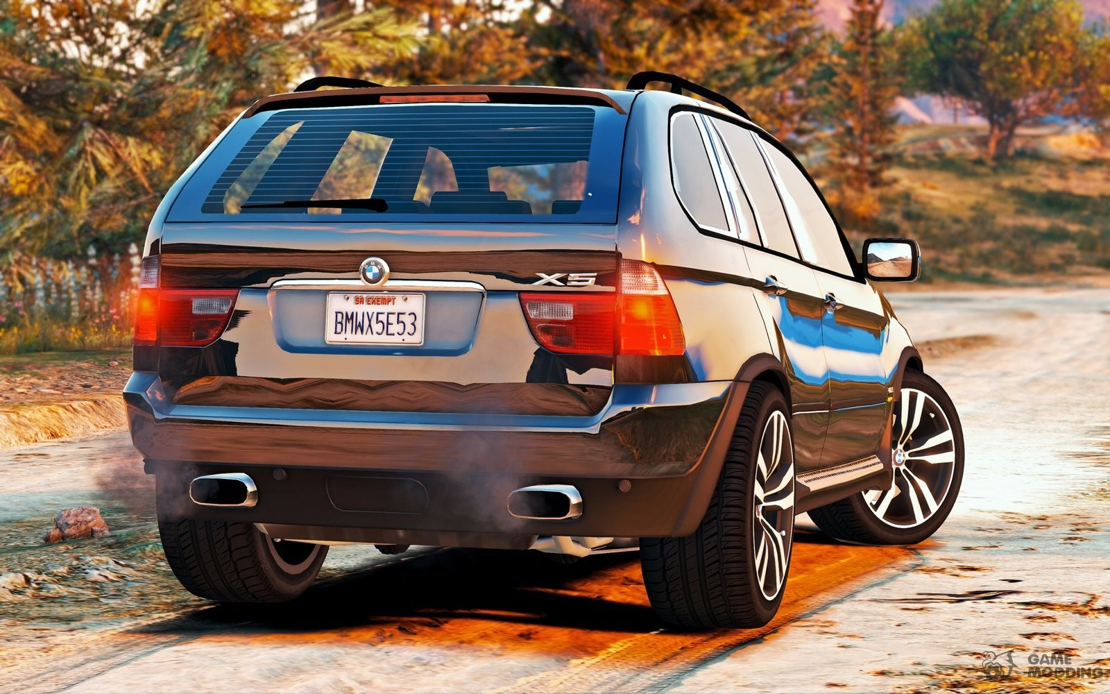 bmw x 5 e53 2005 sport package 1 1 for gta 5. Black Bedroom Furniture Sets. Home Design Ideas