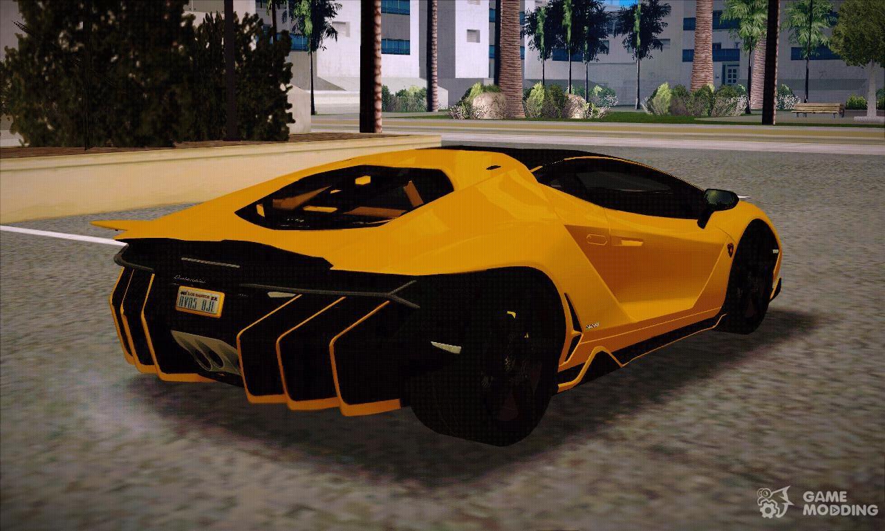 Lamborghini Centenario Lp770 4 Full Featured Black Rims