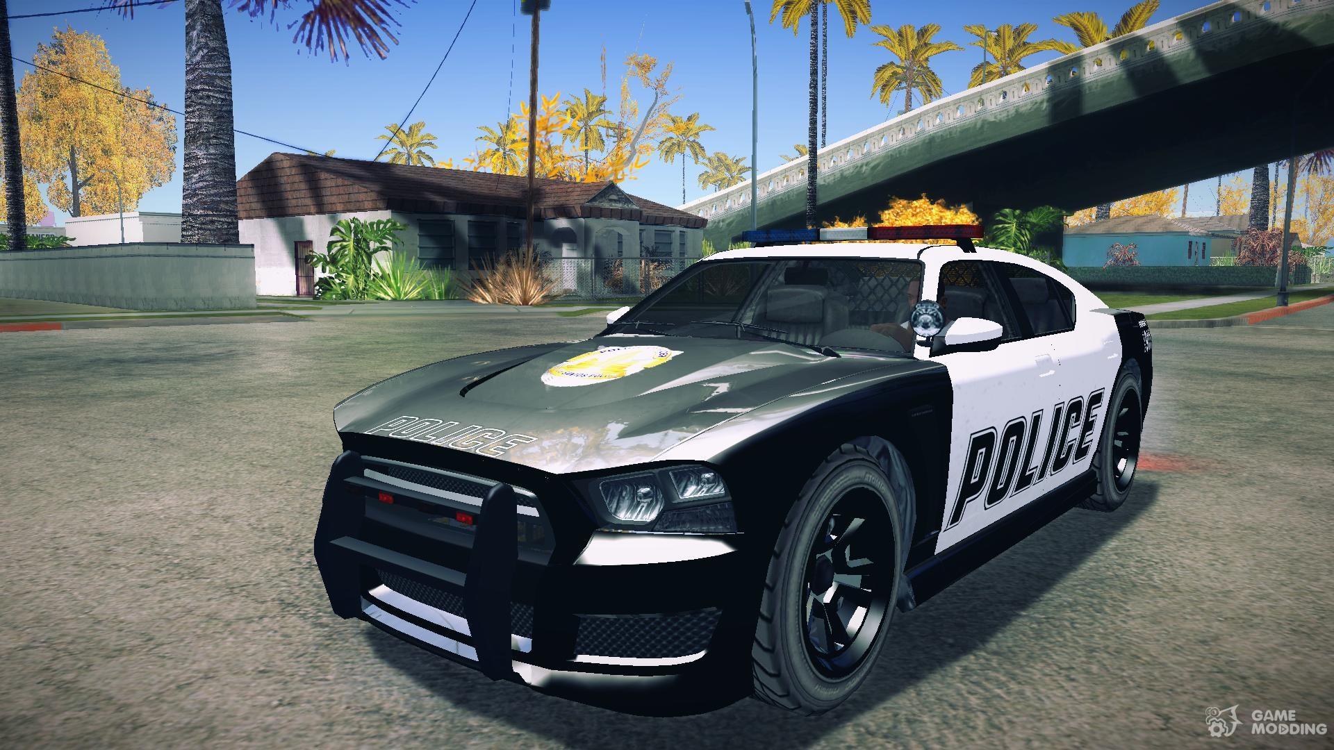 gta v bravado buffalo s police edition for gta san andreas