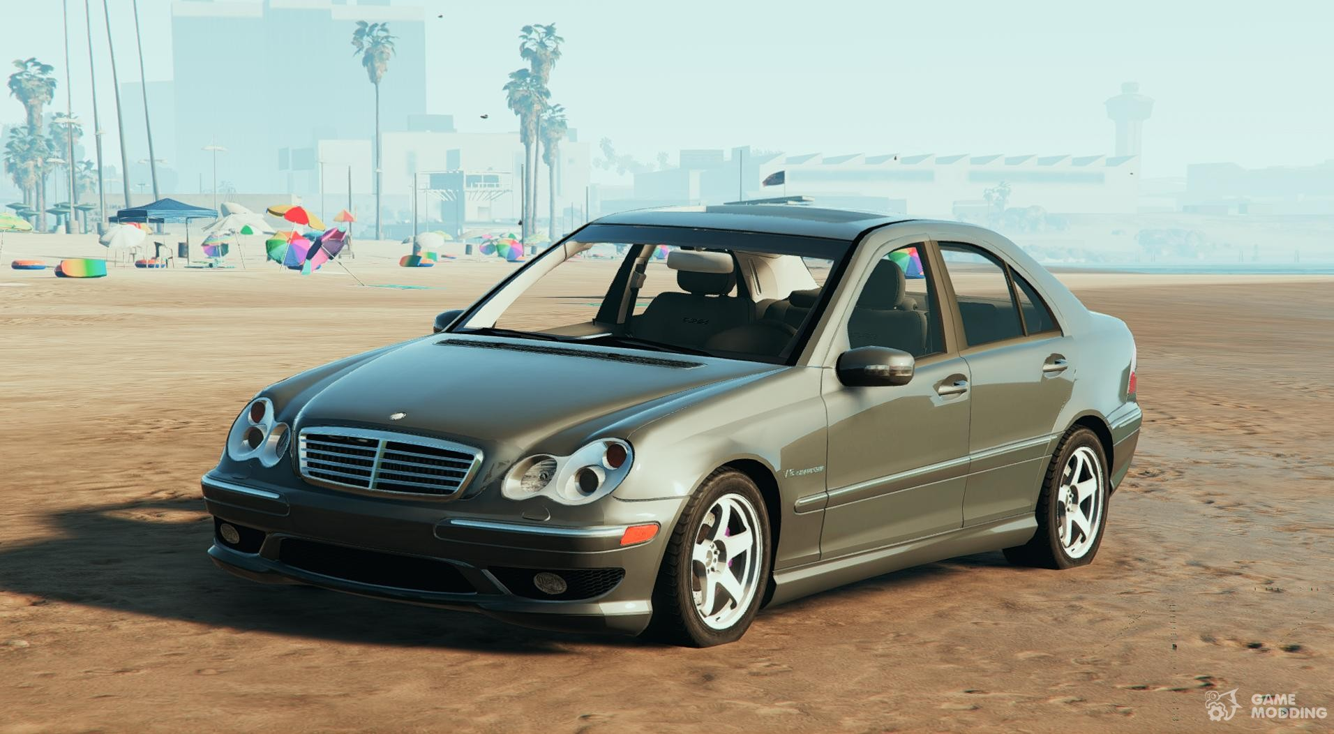 mercedes benz c32 amg for gta 5. Black Bedroom Furniture Sets. Home Design Ideas