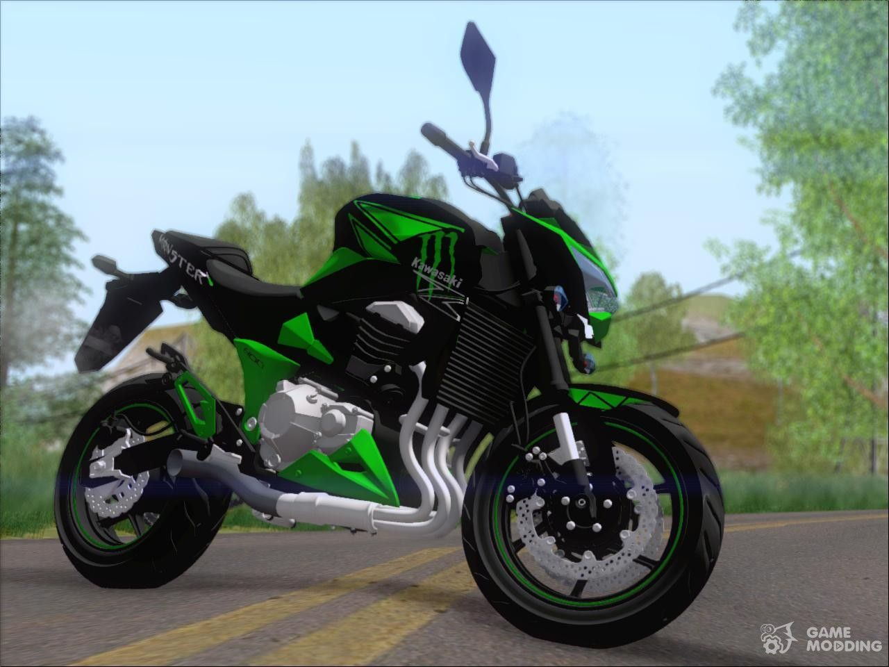 Kawasaki Monster Energy For Gta San Andreas