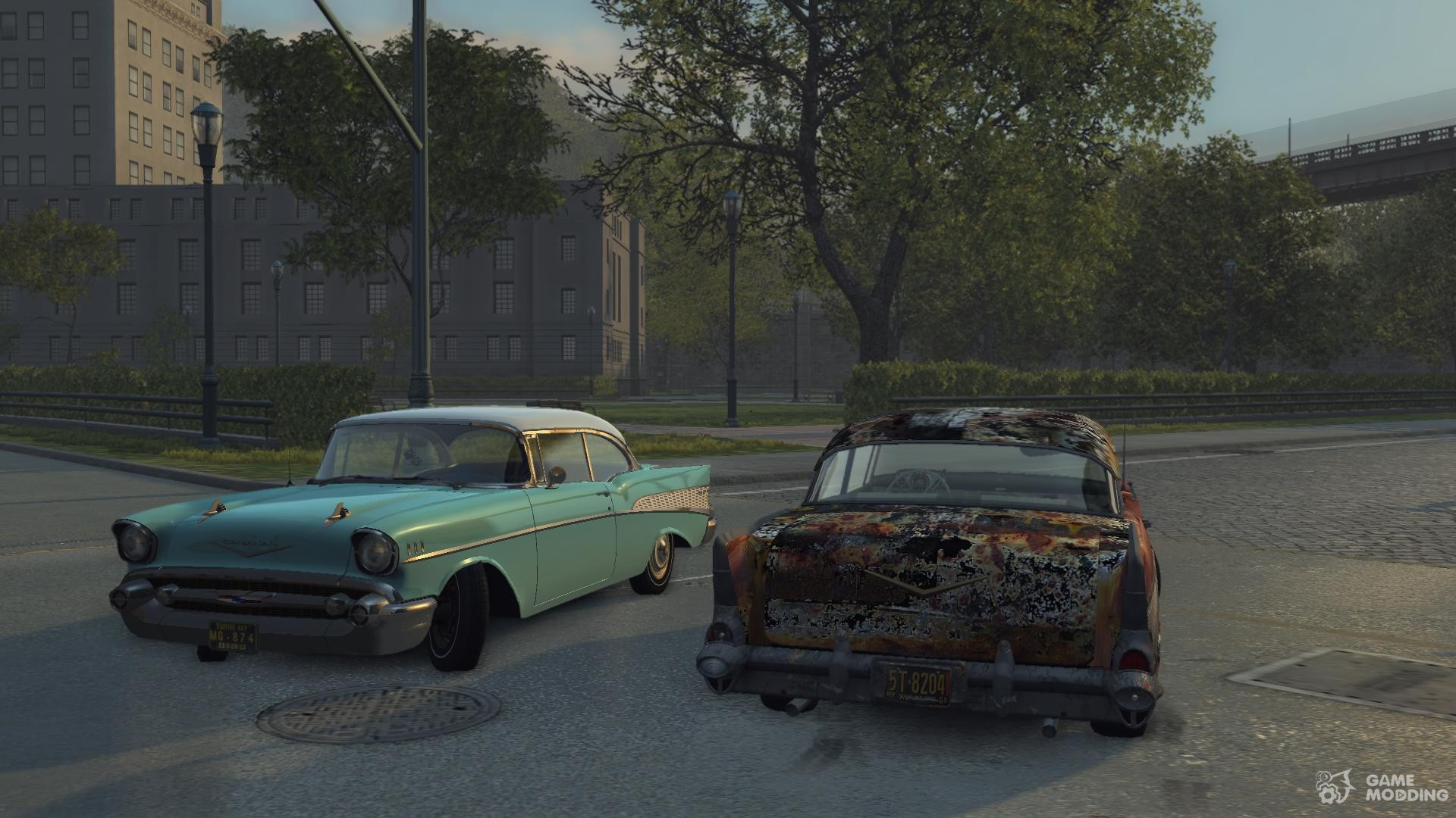chevrolet bel air 1957 for mafia ii. Black Bedroom Furniture Sets. Home Design Ideas