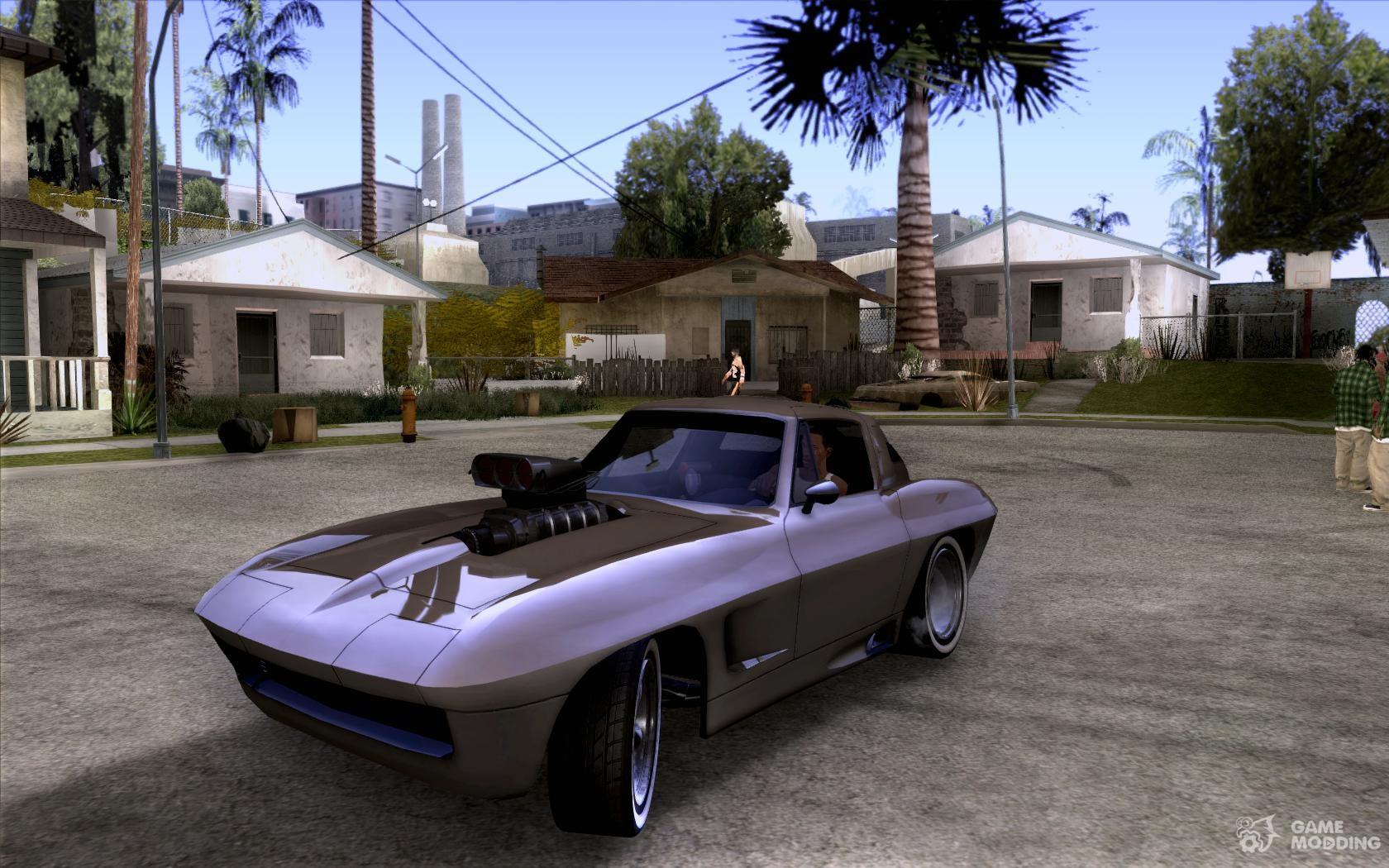 Corvette Big Muscle For Gta San Andreas