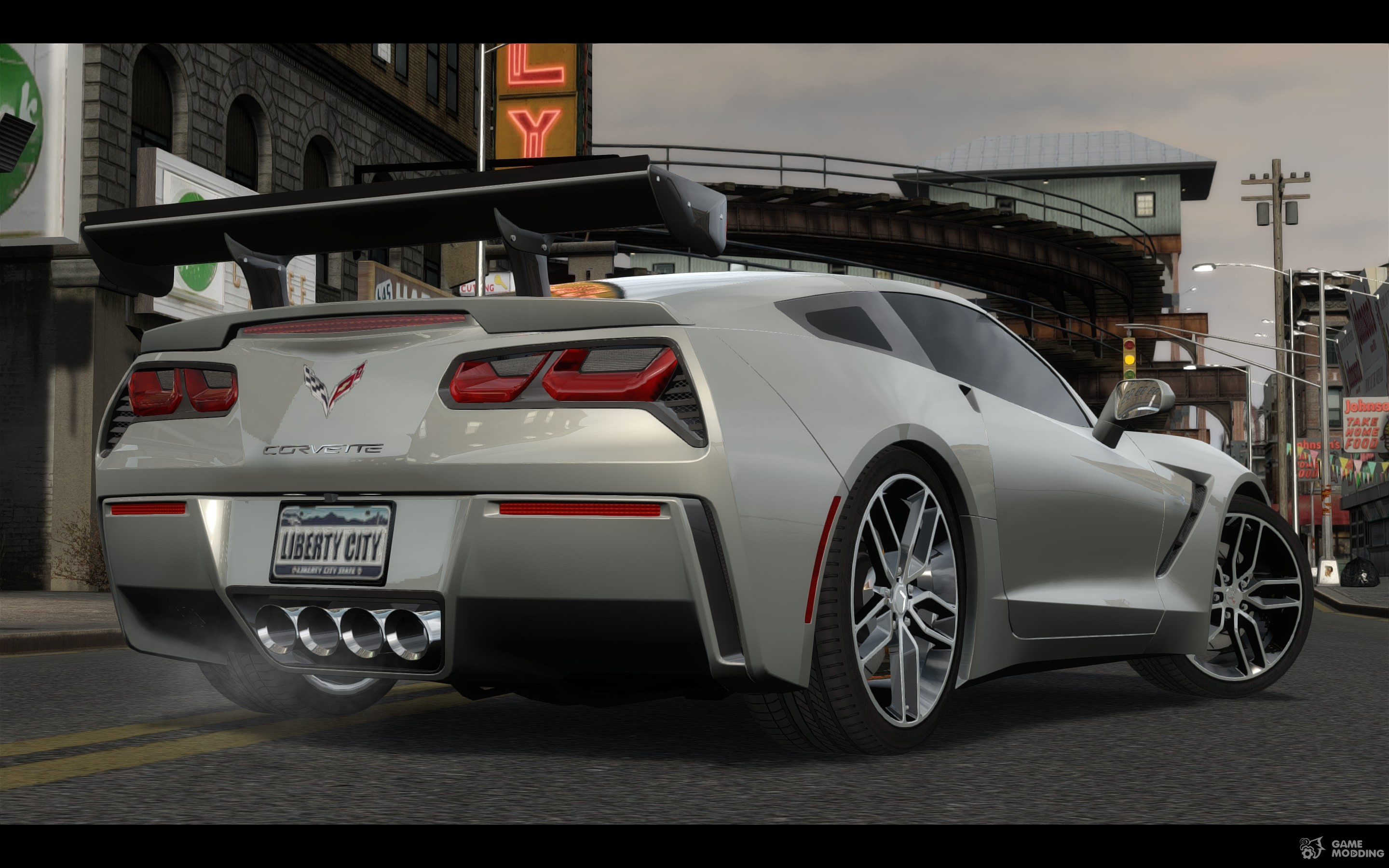2014 chevrolet corvette c7 tuning for gta 4. Black Bedroom Furniture Sets. Home Design Ideas