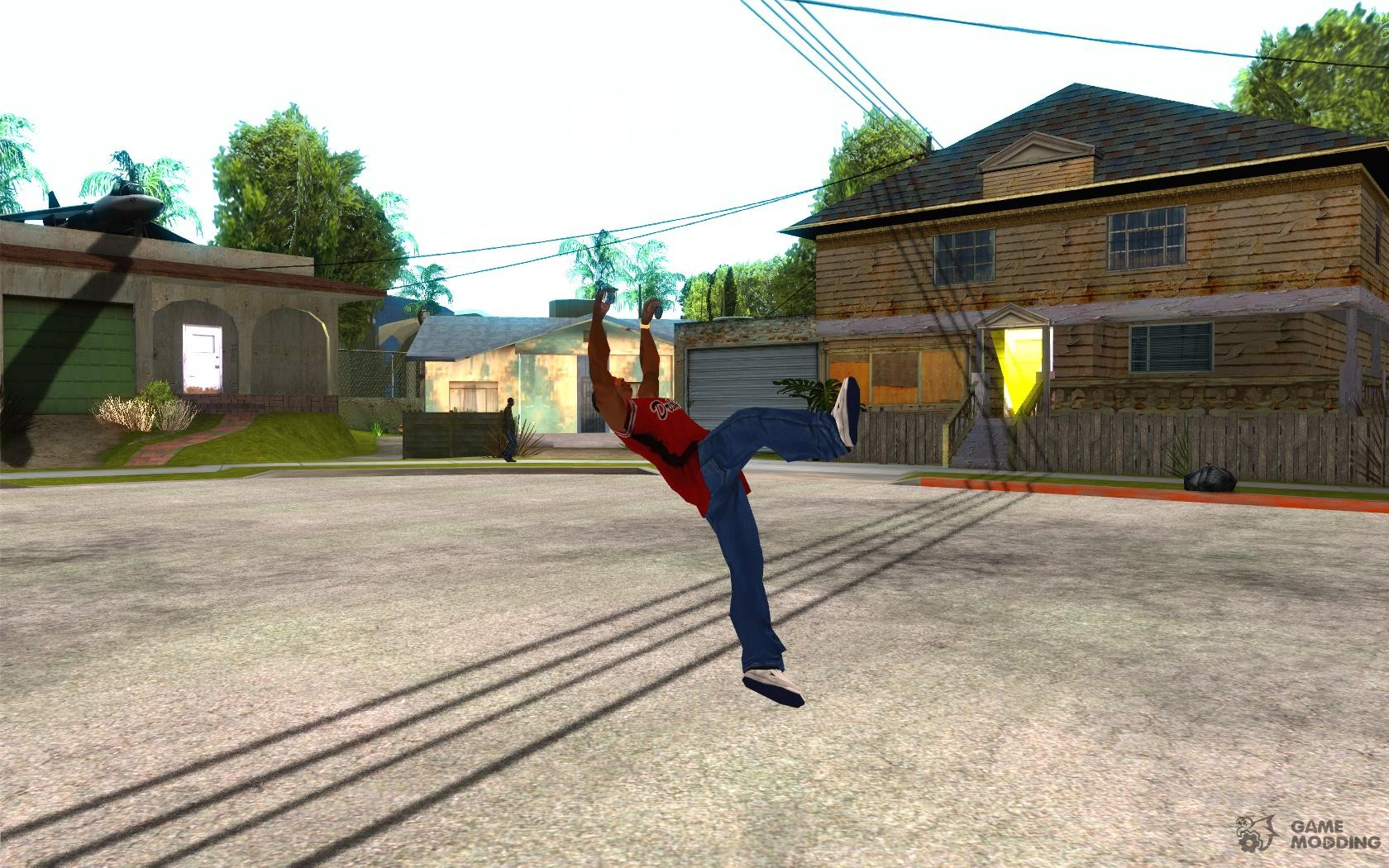 Parkour for gta san andreas.