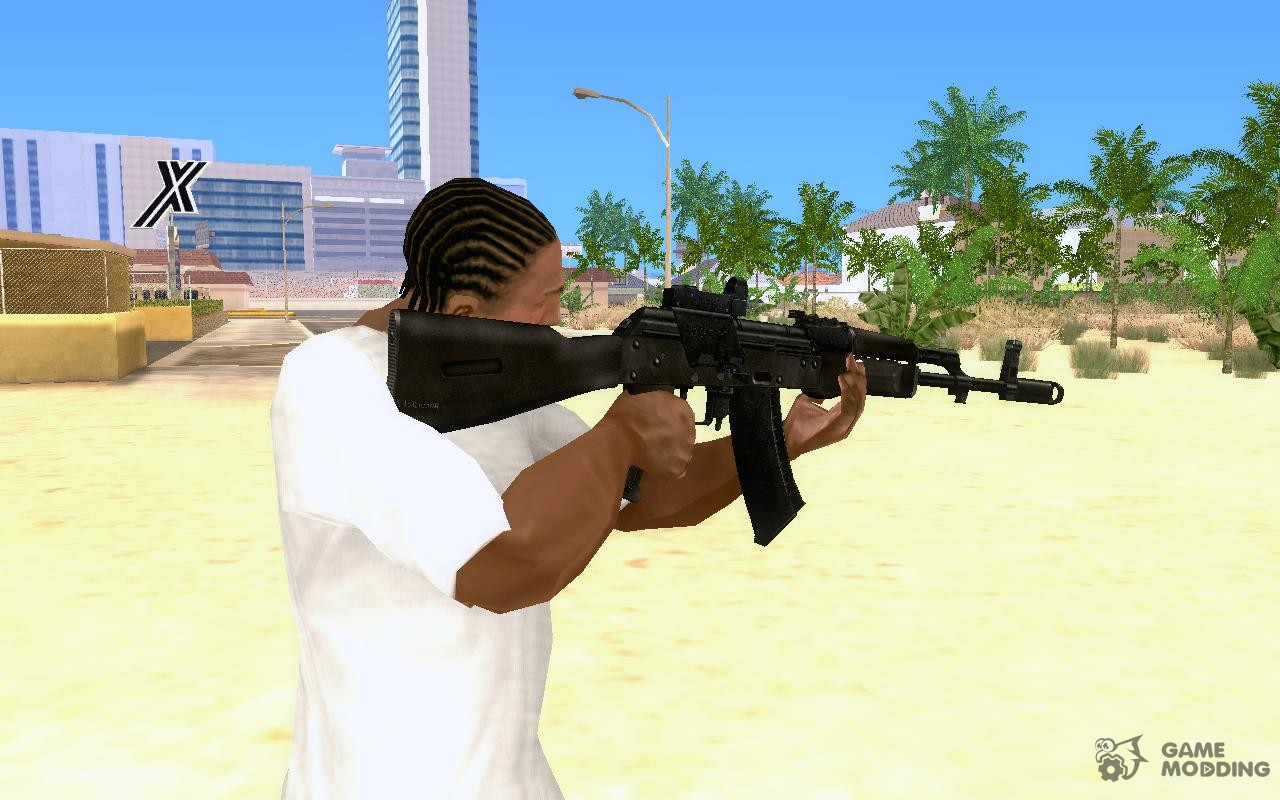 Ak74m: Ak74m For GTA San Andreas