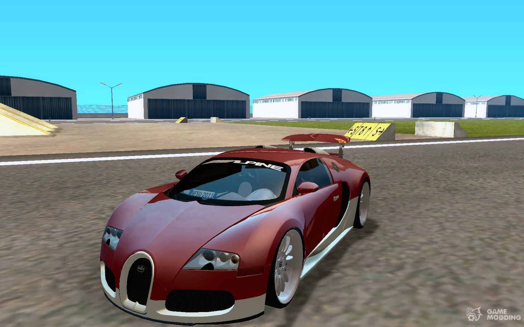 bugatti veyron super sport for gta san andreas. Black Bedroom Furniture Sets. Home Design Ideas