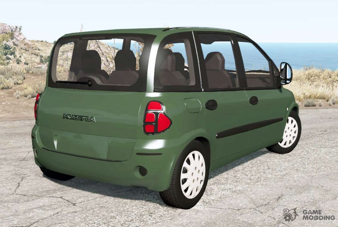 fiat multipla 186 2004 for beamng drive