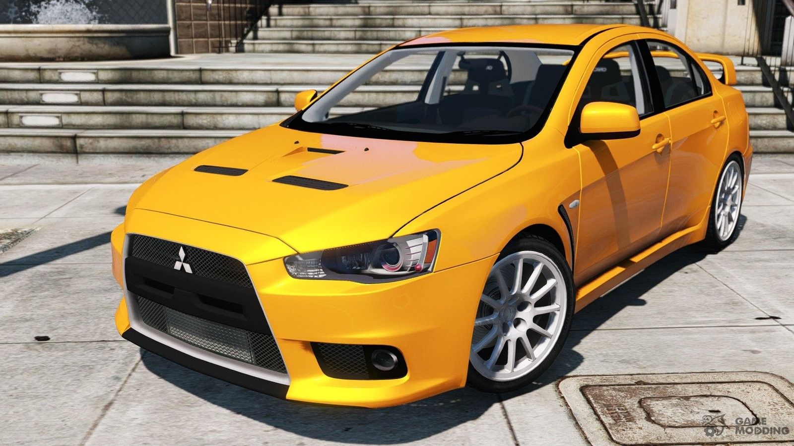 mitsubishi lancer evo x for gta 5. Black Bedroom Furniture Sets. Home Design Ideas