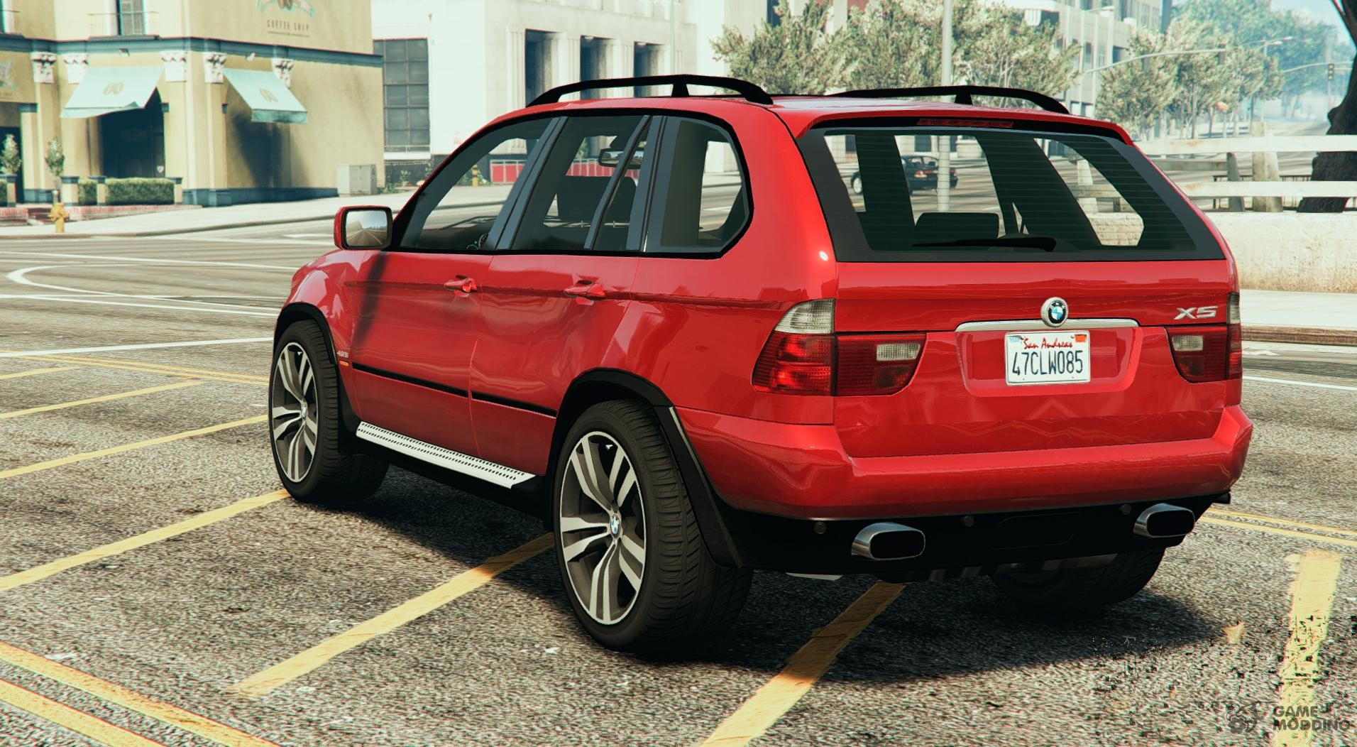 bmw x5 e53 2005 sport package for gta 5. Black Bedroom Furniture Sets. Home Design Ideas