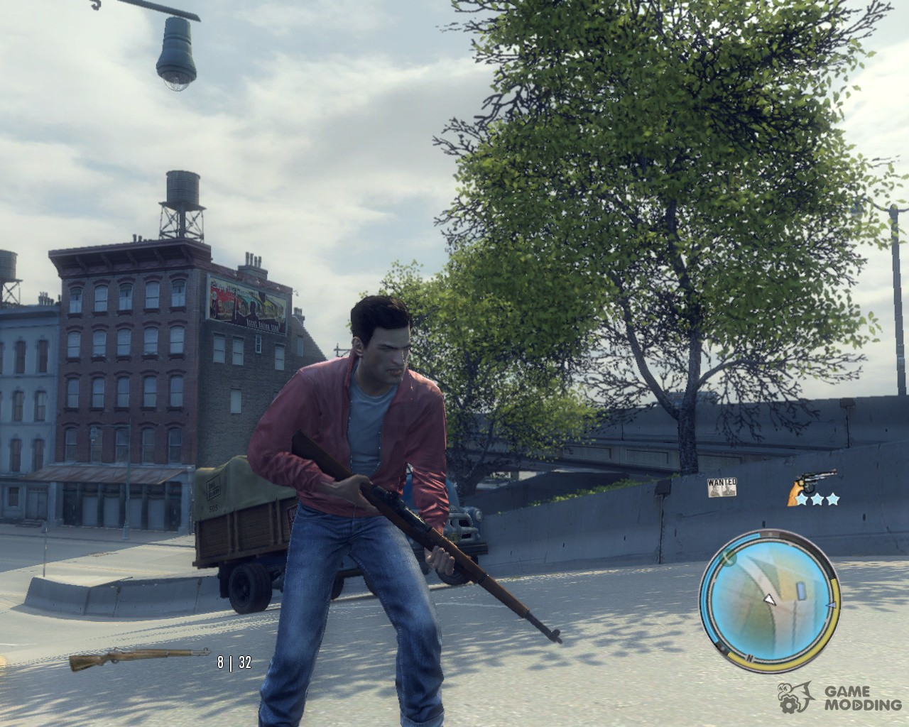 weapons for mafia ii with automatic installation  download
