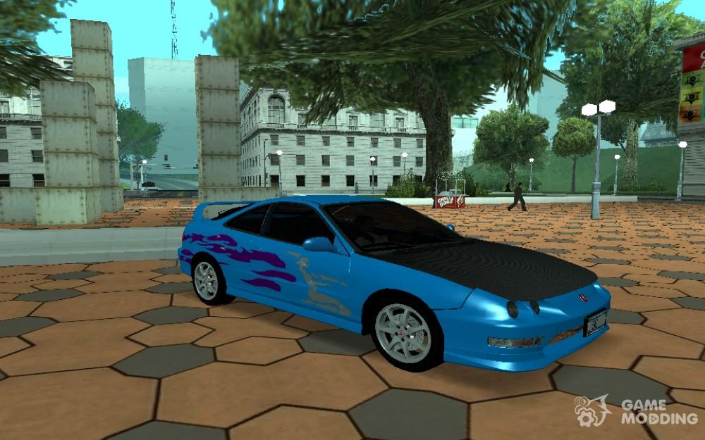 Acura Integra Fast And Furious For GTA San Andreas - Acura integra mods