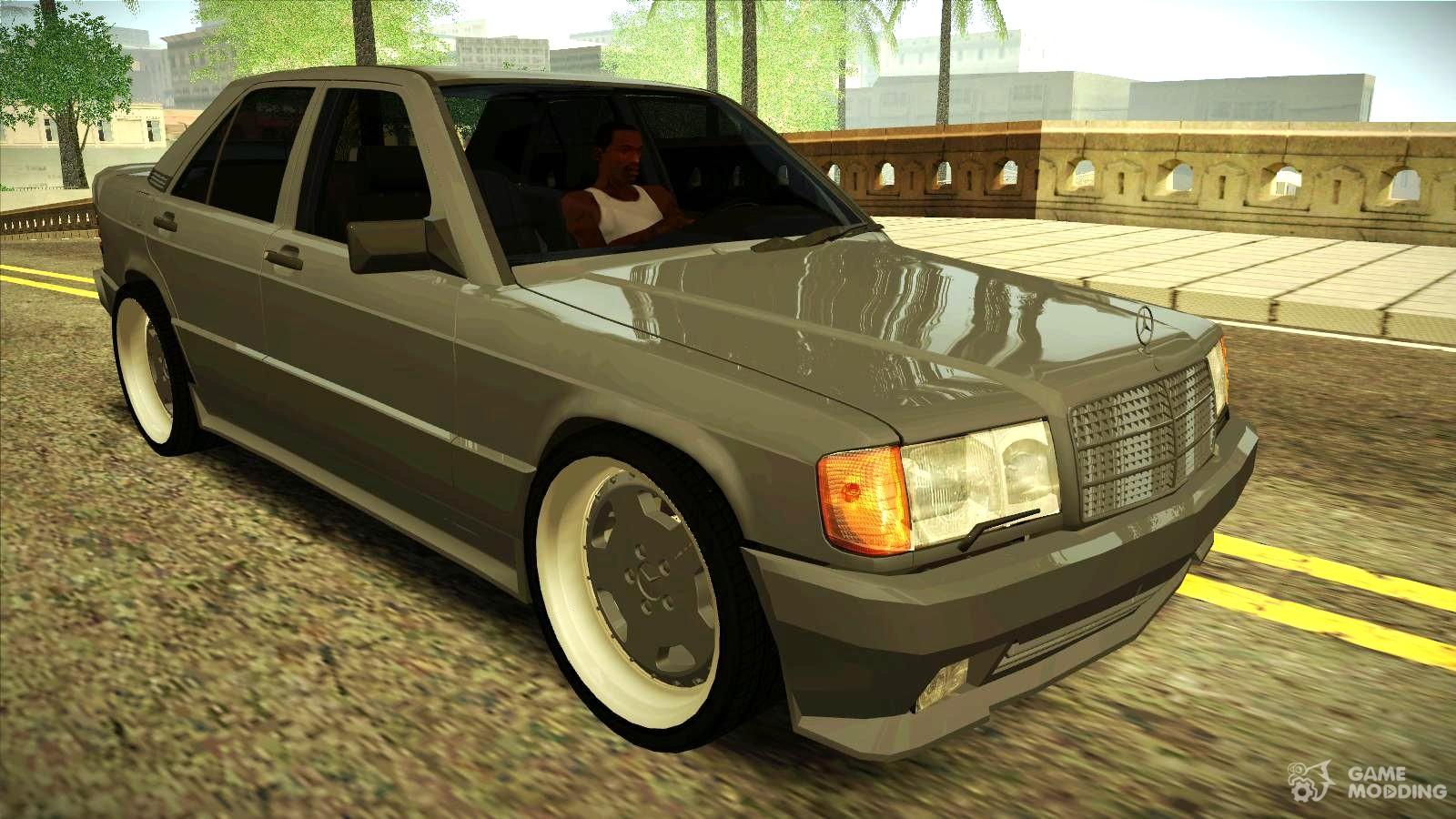 Mercedes benz 190e 3 2 amg for gta san andreas for 190e mercedes benz