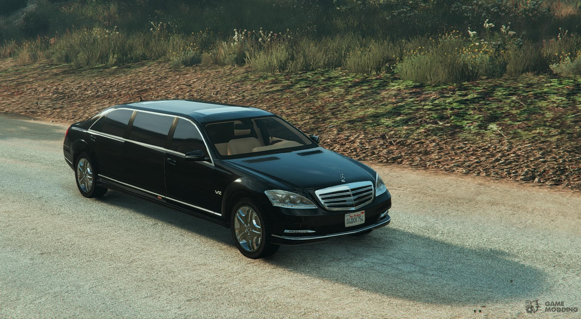 2011 mercedes benz s600 guard pullman 1 1 for gta 5 for 2011 mercedes benz s600