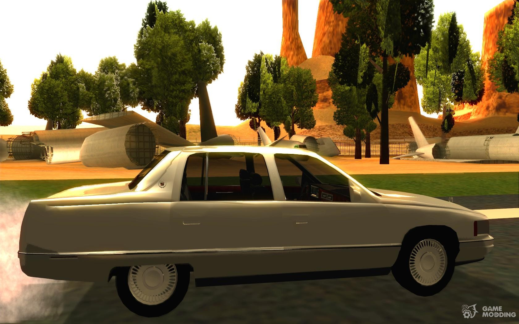Cadillac deville v2 0 1994 for gta san andreas inside view