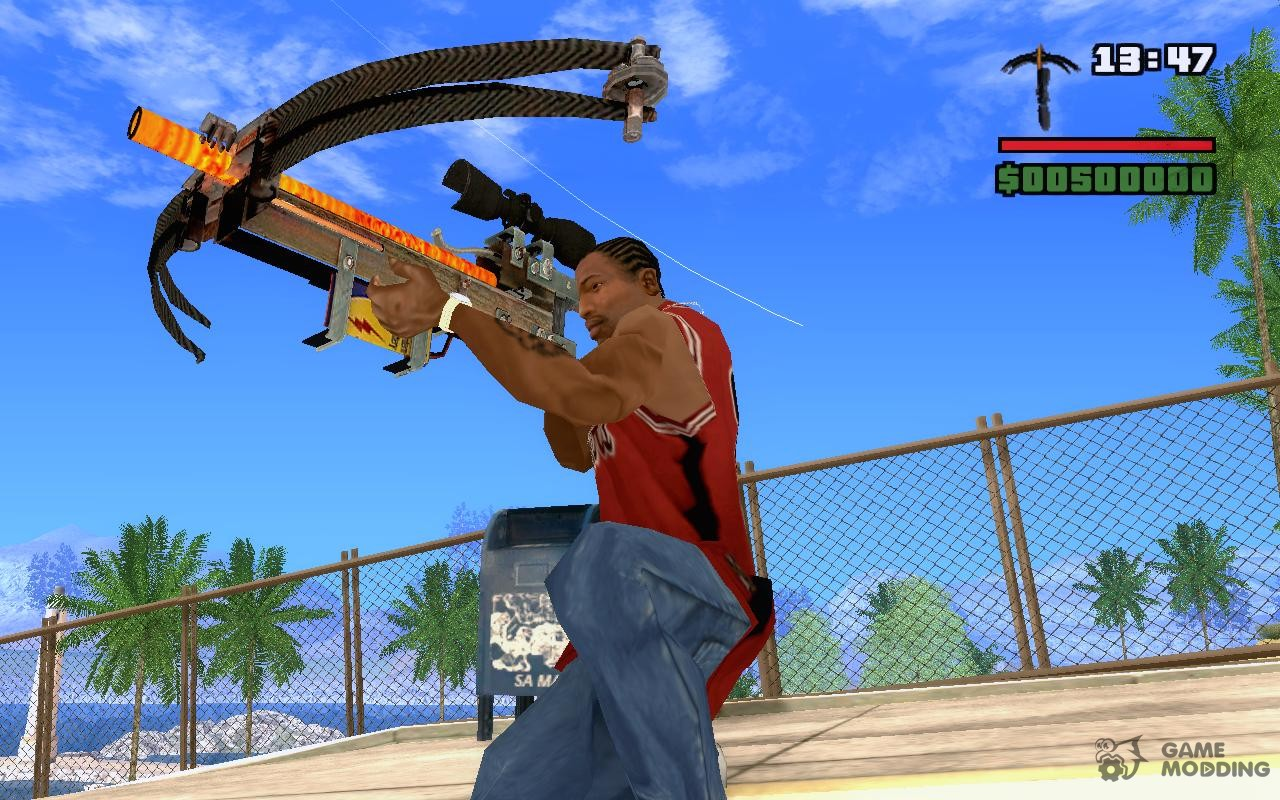 Gta san andreas tool gun from garry's mod mod gtainside. Com.
