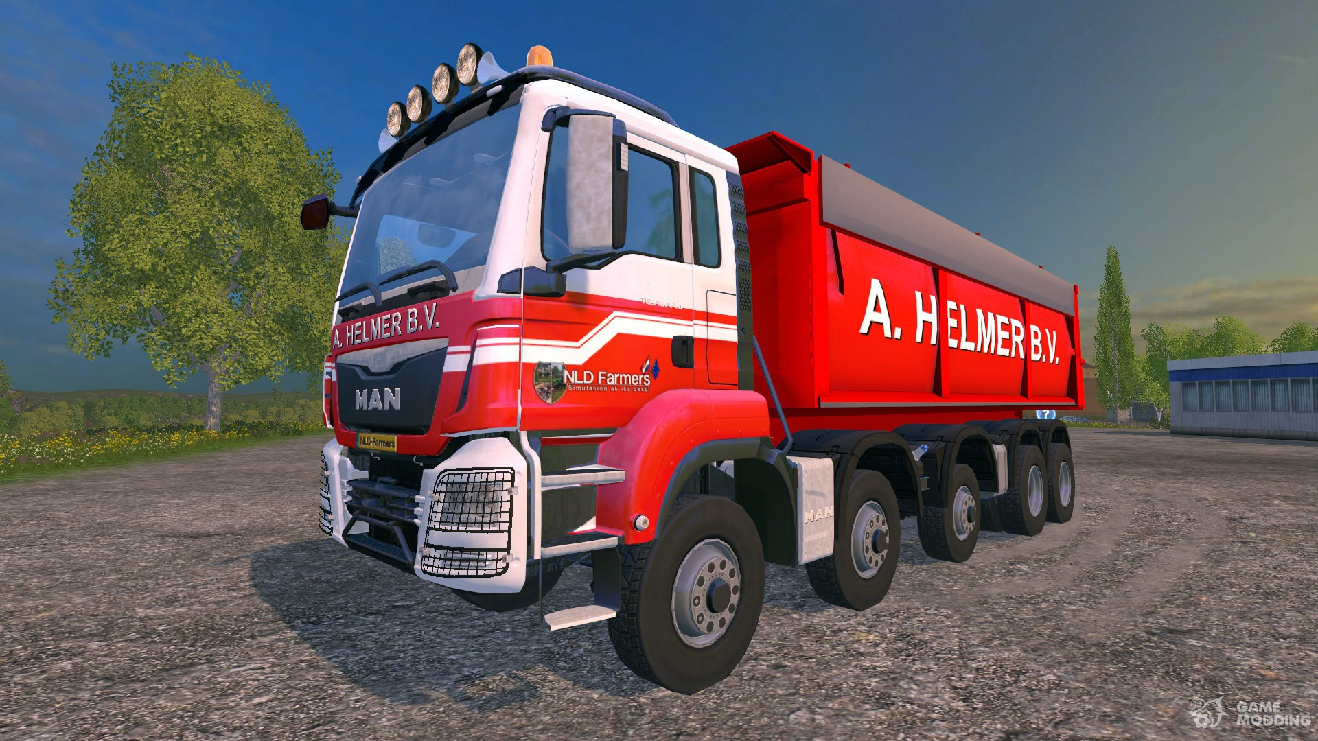 Man tgs a helmer b v v 1 1 for farming simulator 2015 for Helmers accommodatie en interieur bv