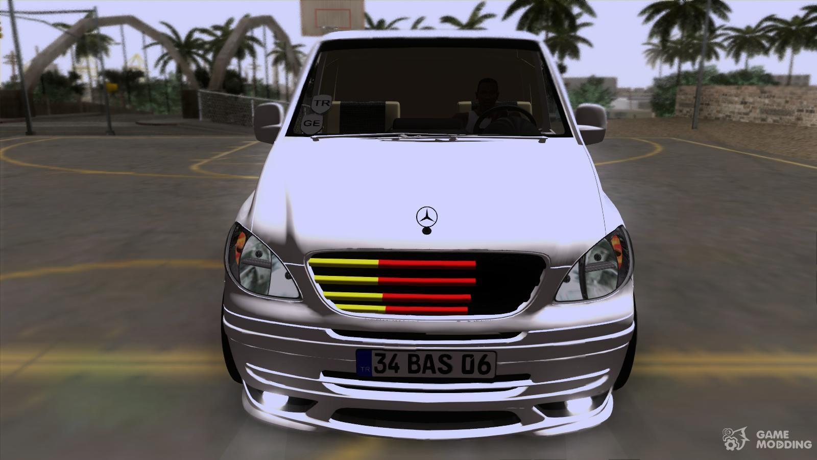 Mercedes benz vito vip for gta san andreas for Mercedes benz vip