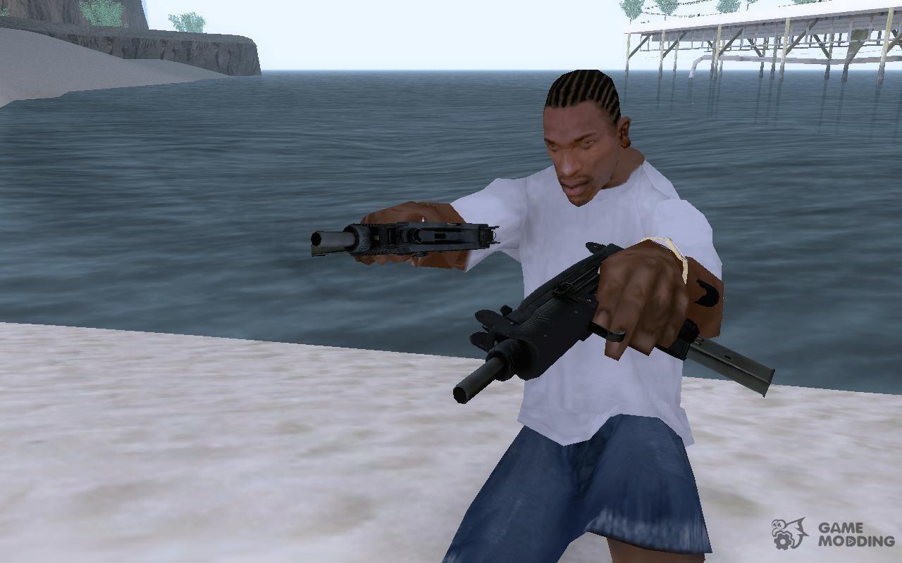 Left 4 Dead 2 Uzi for GTA San Andreas