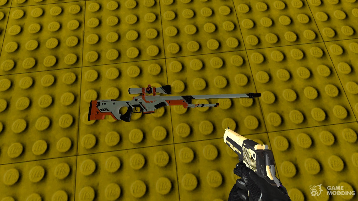 Awp for counter strike source - Awp asiimov css ...