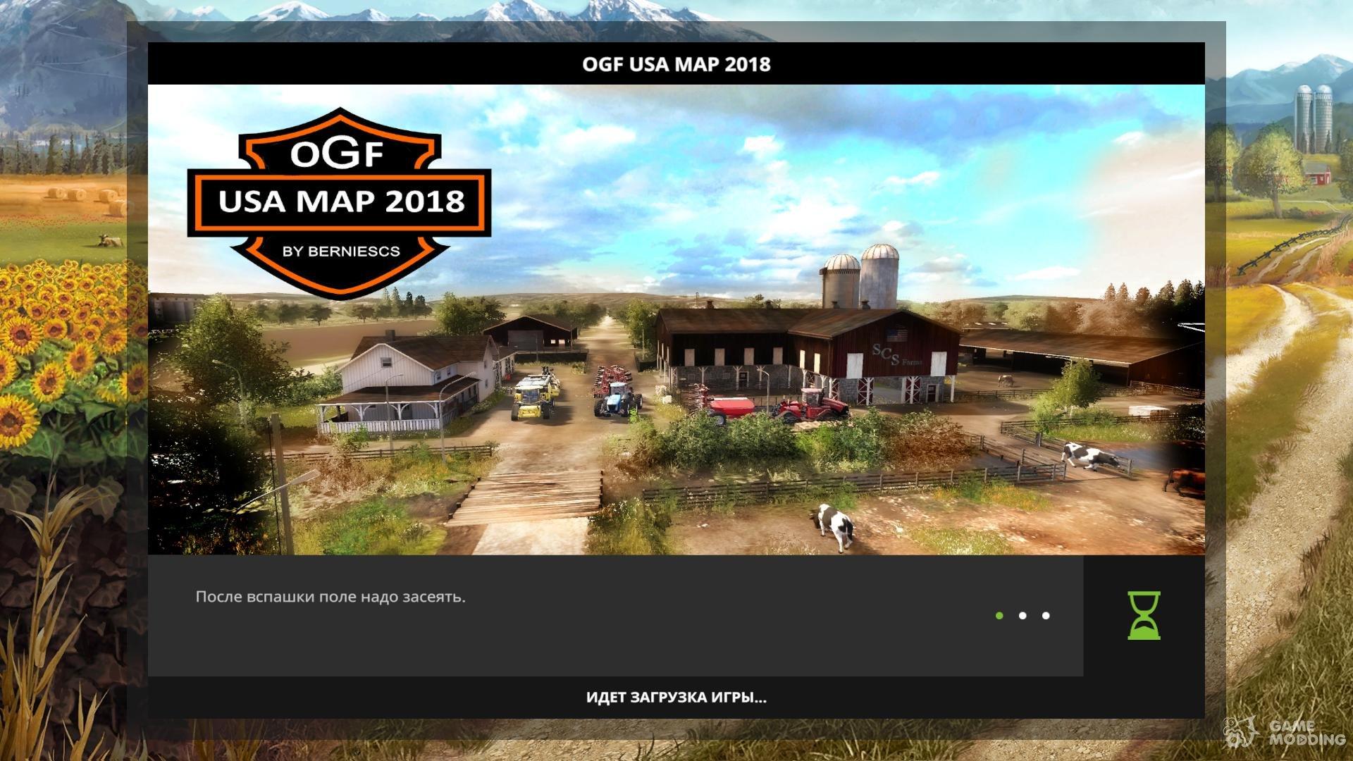 OGF USA Map 2018 for Farming Simulator 2017