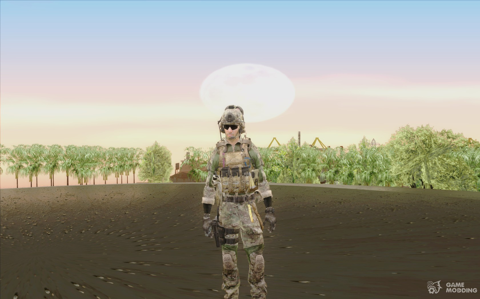 Ranger from Call Of Duty Ghosts for GTA San Andreas