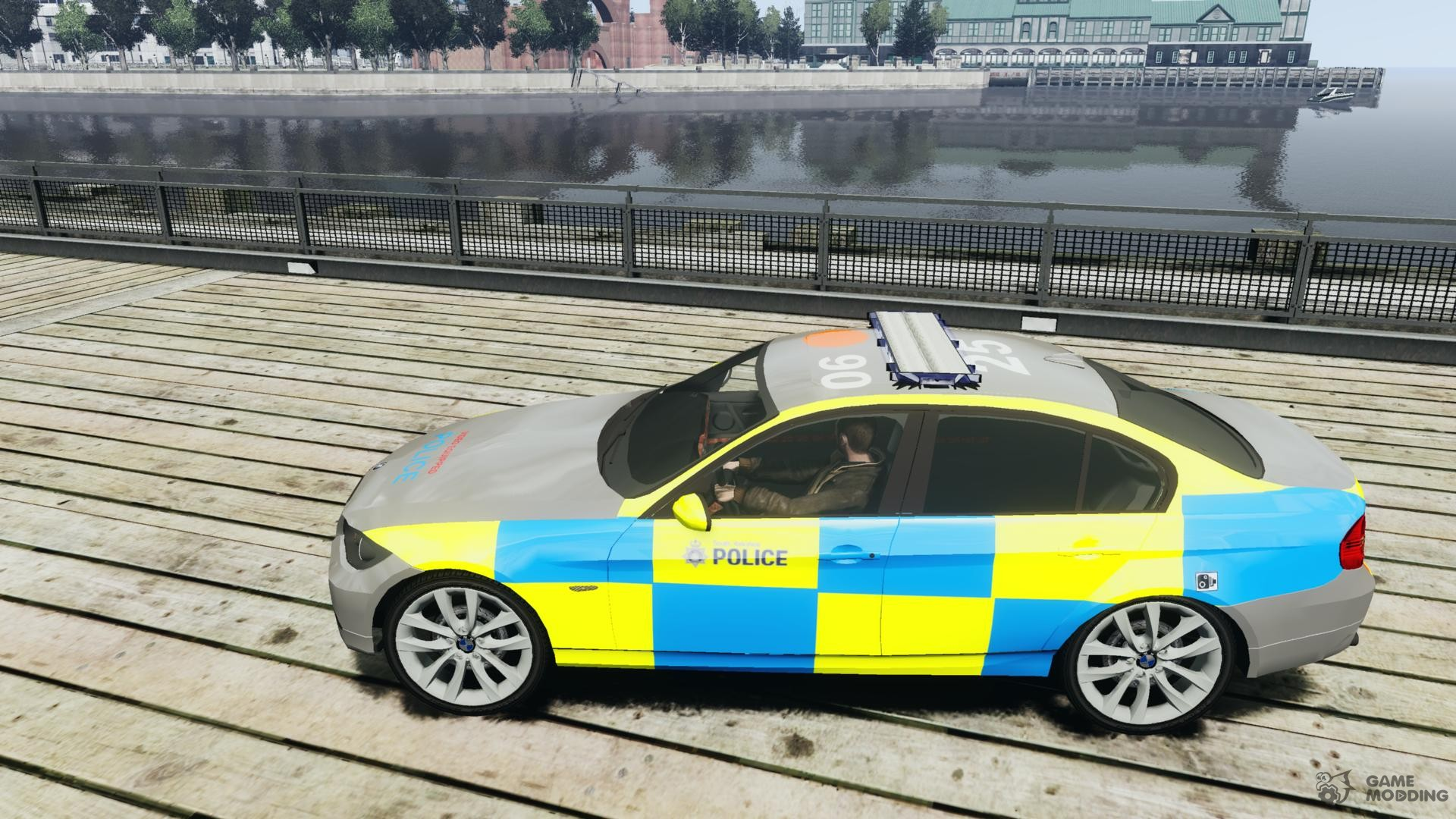 bmw 350i indonesian police car for gta 4