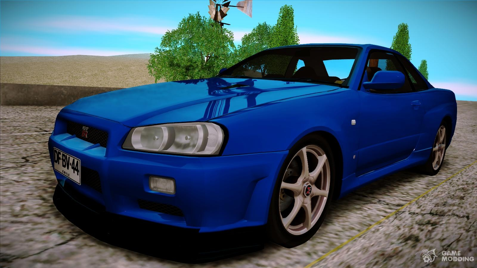 Nissan Skyline Gt R R34 V Spec Ii For Gta San Andreas