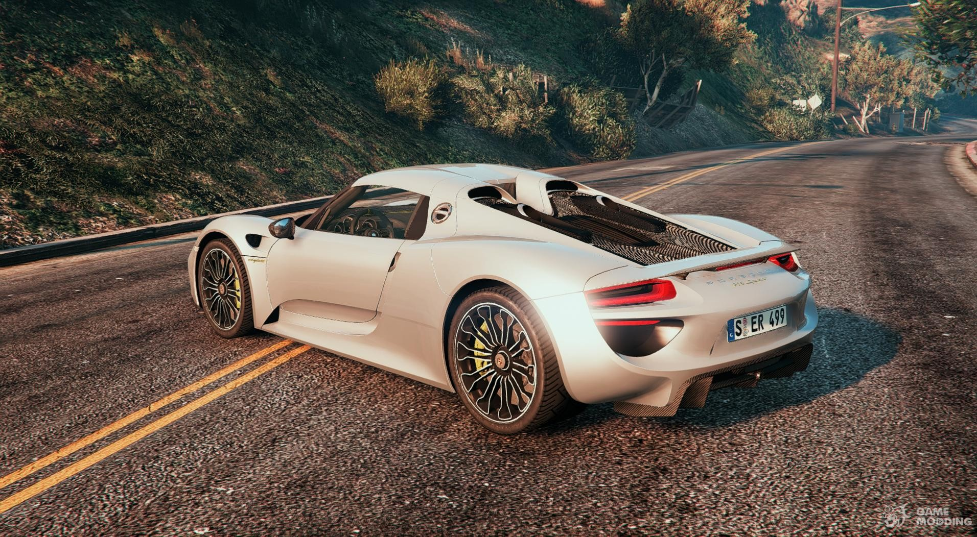 2014 Porsche 918 Spyder Hd For Gta 5