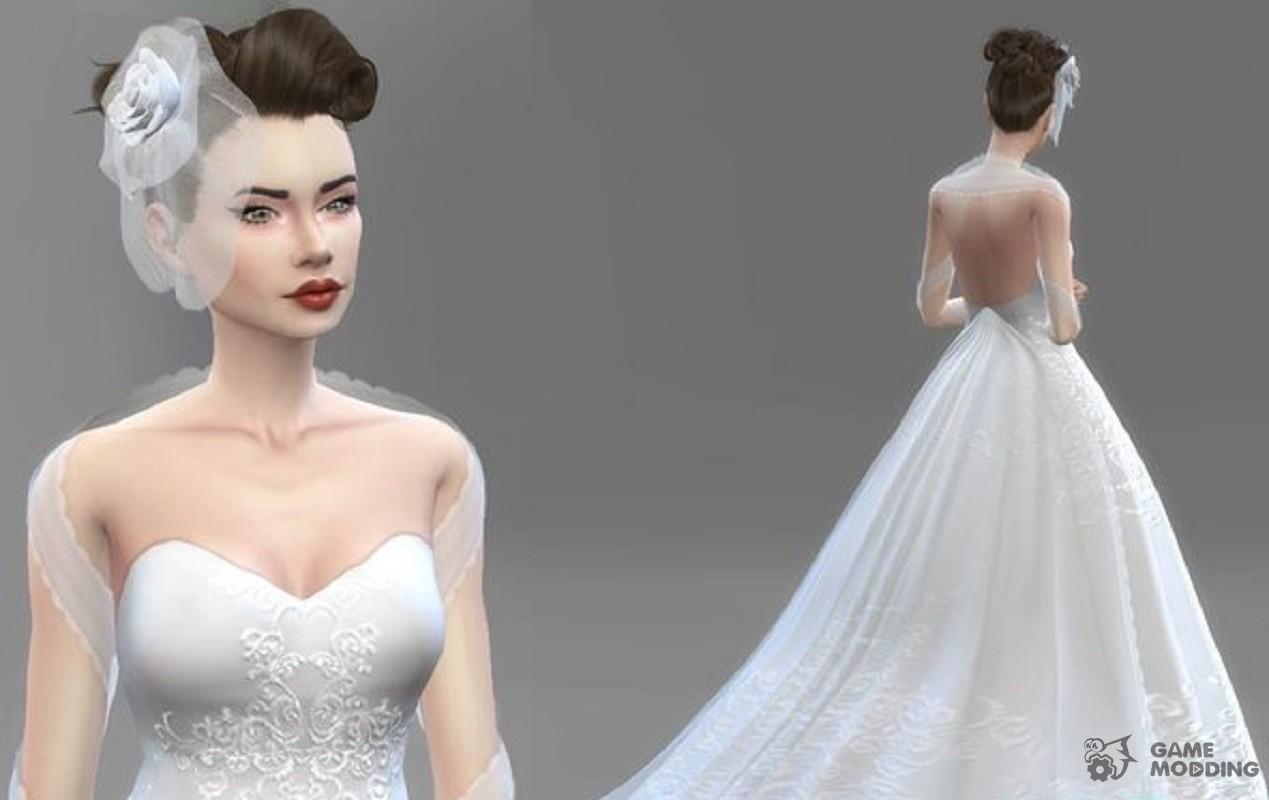 Sims 4 Wedding Dress.Sims 4 Wedding Dress Set Raveitsafe